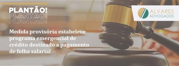 PROGRAMA EMERGENCIAL PARA EMPRESAS  DE SUPORTE A EMPREGOS