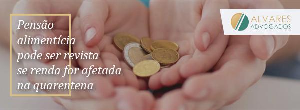 Pensão alimentícia pode ser revista se renda for afetada na quarentena