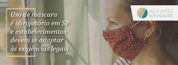 Covid-19: uso de máscaras em áreas públicas e estabelecimentos comerciais passa a ser obrigatório
